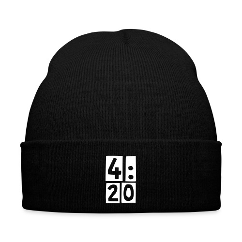 4:20 Winter Cap, Red - Winter Hat