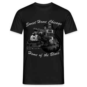 Musiker Shirt | Sweet Home Chicago - Männer T-Shirt