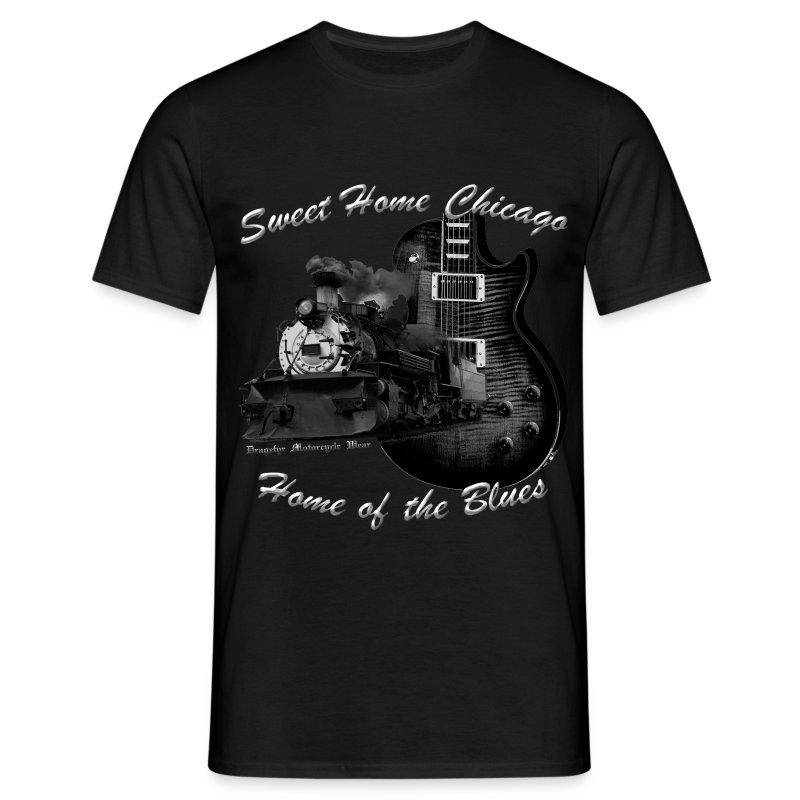 Musiker Shirt | Sweet Home Chicago - Männer T-Shirt