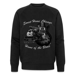 Musiker Sweatshirt | Sweet Home Chicago - Männer Bio-Sweatshirt von Stanley & Stella