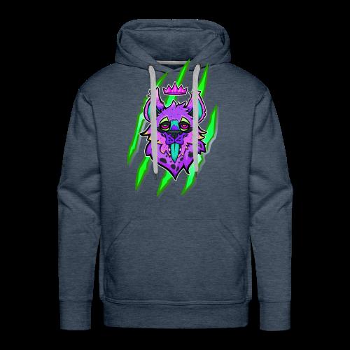 Hyena Monster - Hoodie avec poche Unisexe - Sweat-shirt à capuche Premium pour hommes