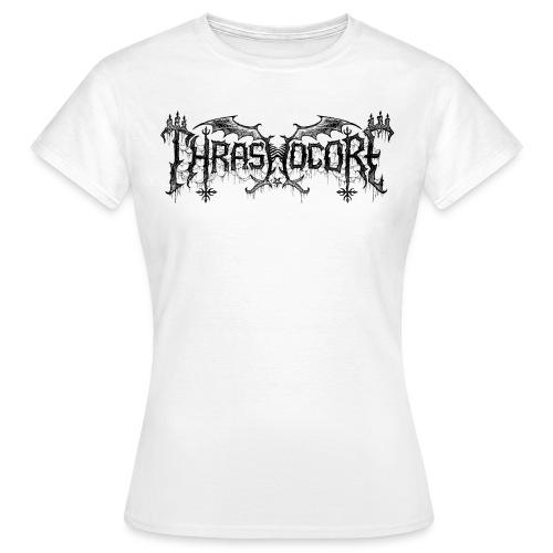 T-shirt femme Thrashocore blanc - Chris Moyen - T-shirt Femme
