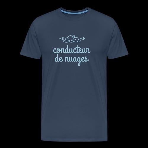 /La tête dans les nuages - T-shirt Premium Homme