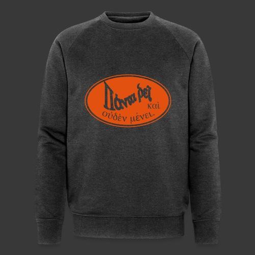 PANTA RHEI - Men's Organic Sweatshirt by Stanley & Stella