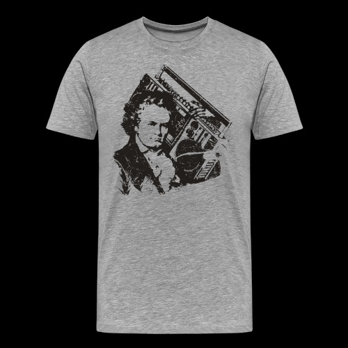 /Hip-hop Beethoven - T-shirt Premium Homme