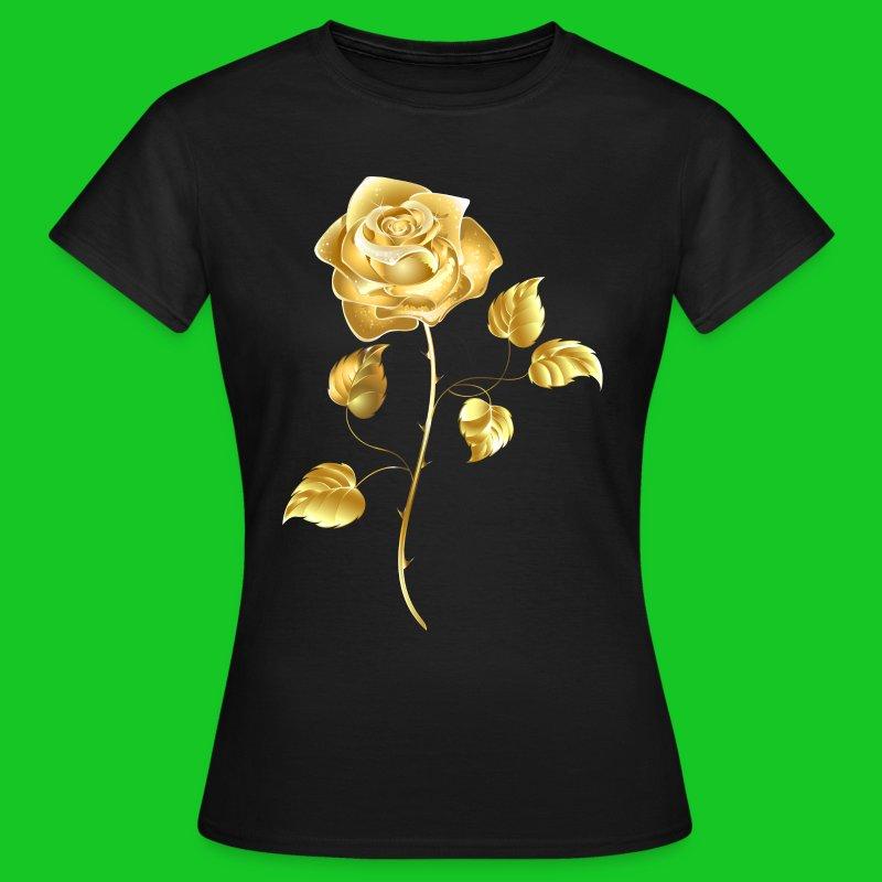 Gouden roos dames tt-shirt - Vrouwen T-shirt