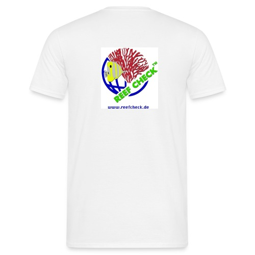 T-Shirt, Classic Logo hinten - Männer T-Shirt