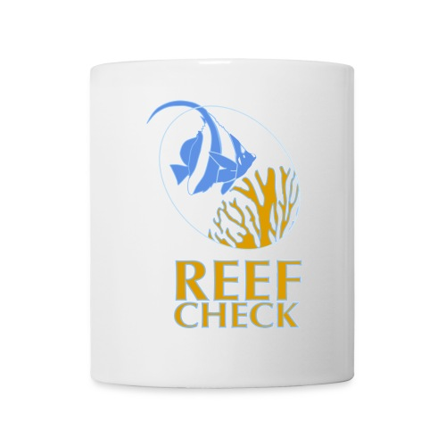 Becher, Logo Reef Check  - Tasse