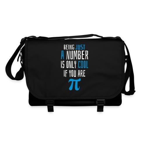 Zahl Pi Geek Spruch Taschen & Rucksäcke - Umhängetasche