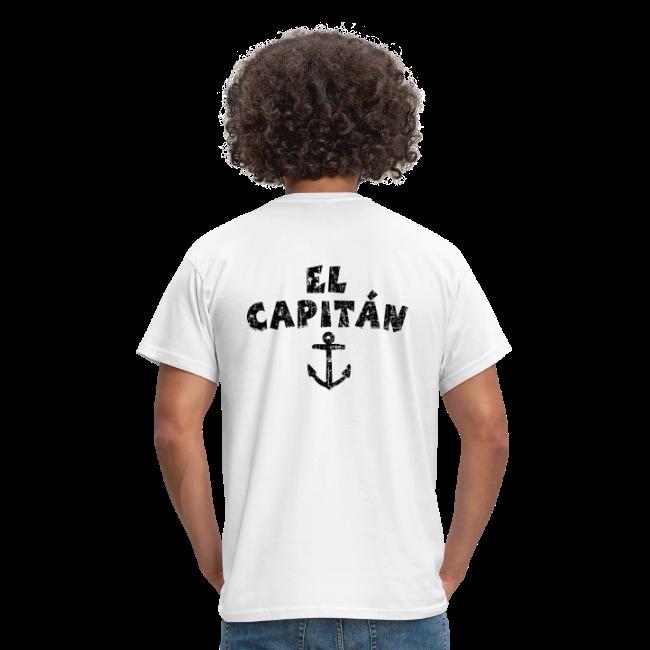 El Capitán T-Shirt (Vintage Schwarz)