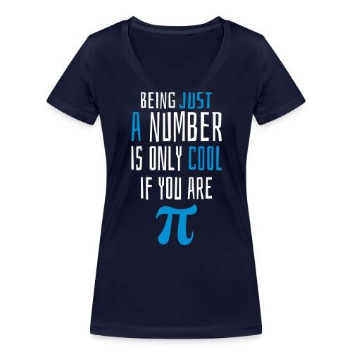 Zahl Pi Geek Spruch T-Shirts - Frauen Bio-T-Shirt mit V-Ausschnitt von Stanley & Stella