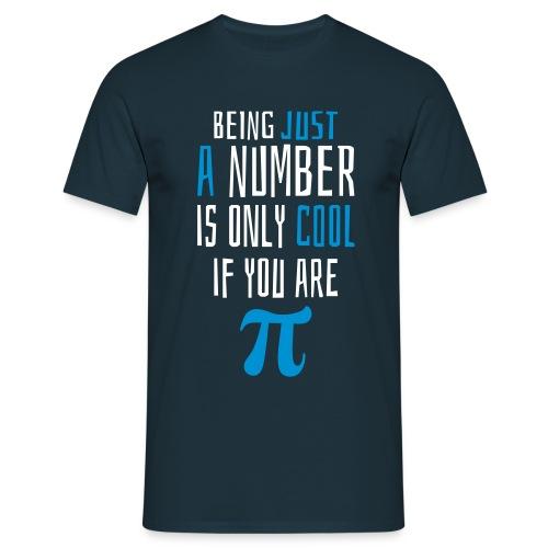 Zahl Pi Geek Spruch T-Shirts - Männer T-Shirt