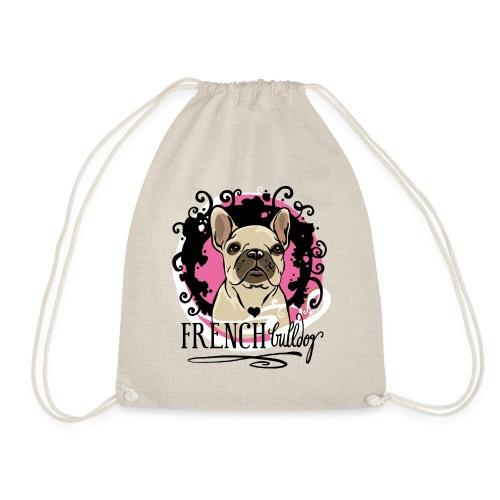 French Bulldog Sportsack  - Turnbeutel