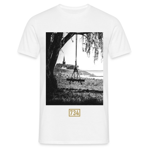 Shirt Skyline - Männer T-Shirt