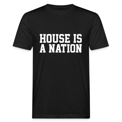 ILHM // HOUSE IS A NATION // MEN - Männer Bio-T-Shirt