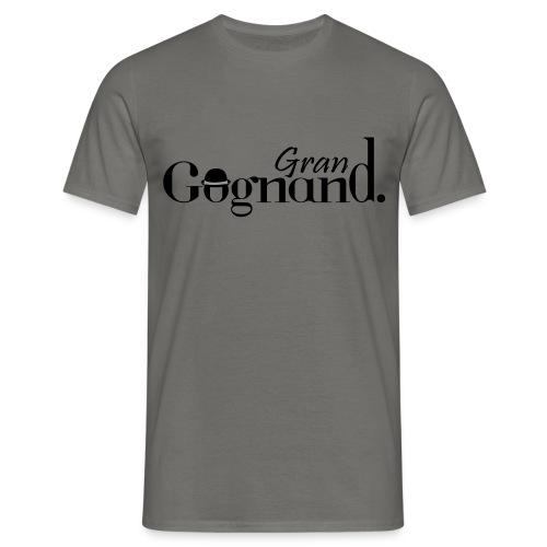 T-shirt Homme - ol,lyonnais,grand,gones,gognand,Lyon