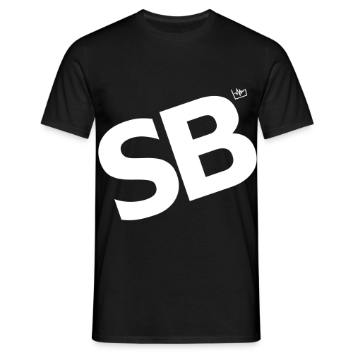 SB Black Tee - Men's T-Shirt