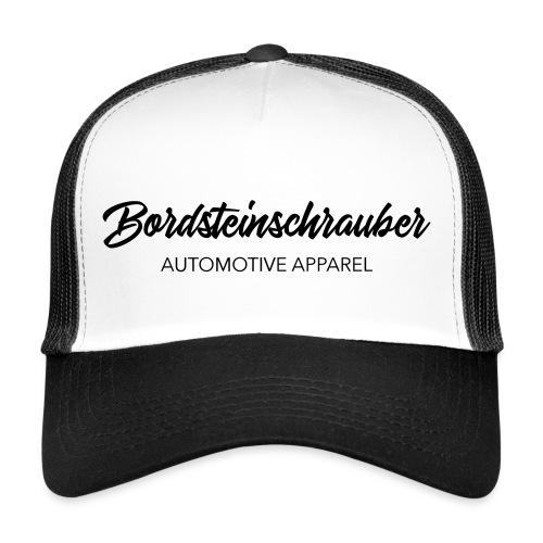 BRDSTN Trucker Mesh Cap Bordsteinschrauber Weiß/Schwarz - Trucker Cap
