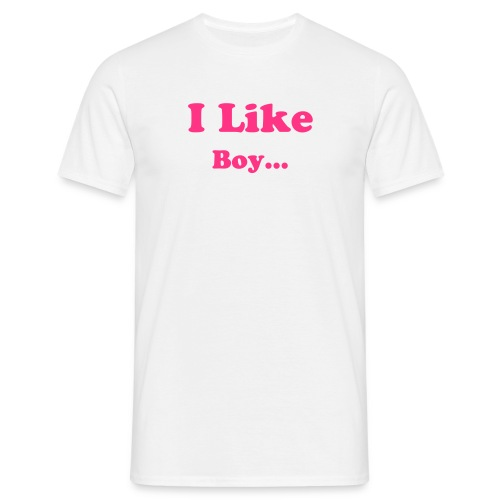 I like Boy - T-shirt Homme