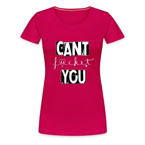 Fucket pink - Frauen Premium T-Shirt