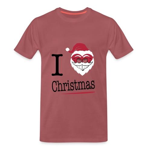 i love Christmas - T-shirt Premium Homme