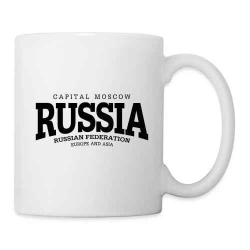 Russia (black) - Tasse