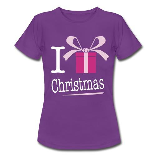I love Noël - T-shirt Femme