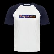 T-Shirts ~ Männer Baseball-T-Shirt ~ NETMUSICZONE Baseball