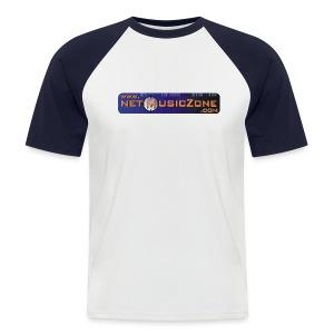 NETMUSICZONE Baseball - Männer Baseball-T-Shirt