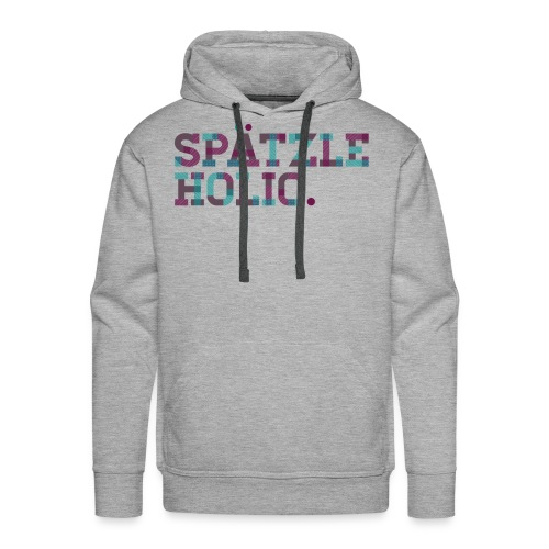 Spätzleholic - Kerle - Männer Premium Hoodie