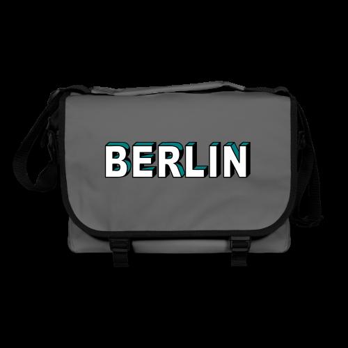 BERLIN Blockschrift - Umhängetasche
