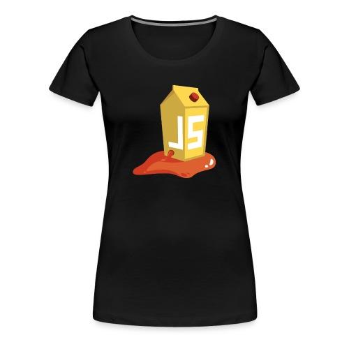 OWASP Juice Shop T-Shirt (Damen) - Frauen Premium T-Shirt