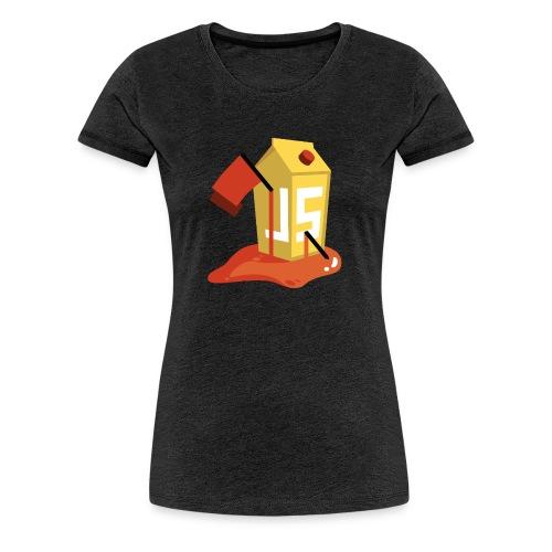 OWASP Juice Shop CTF T-Shirt (Damen) - Frauen Premium T-Shirt