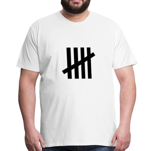 counting days jail - Men's Premium T-Shirt