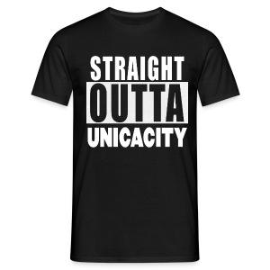 STRAIGHT OUTTA UNICACITY | Männer T-Shirt - Männer T-Shirt