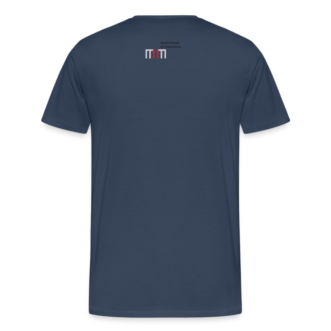 Men's T-Shirt - Policy Puzzle (Navy)