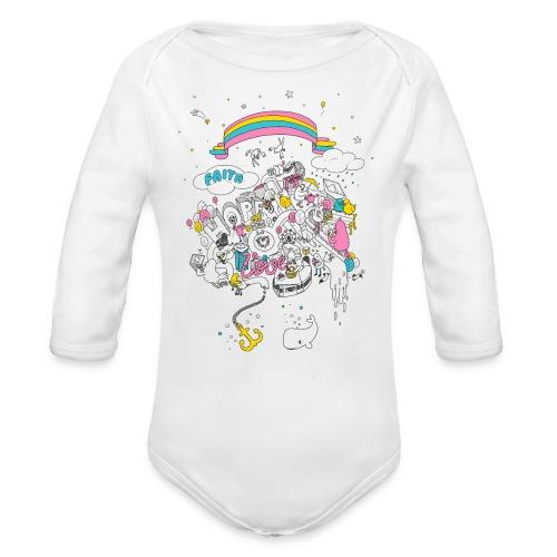 Babystrampler - Baby Bio-Langarm-Body