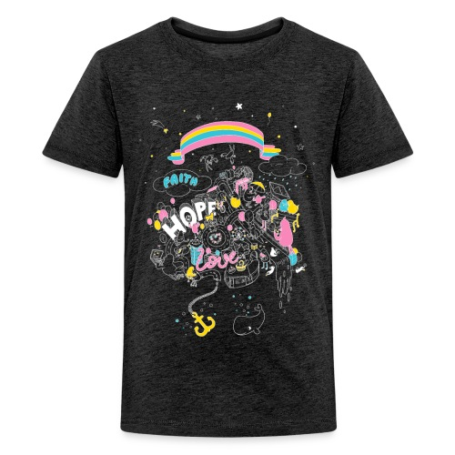 Kinder T-Shirt - Teenager Premium T-Shirt