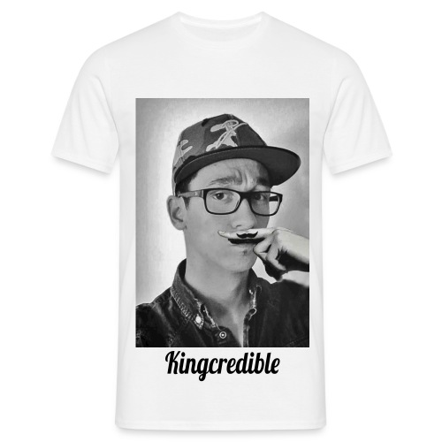 Mr. KingCredible - Moustache - TShirt - Männer T-Shirt