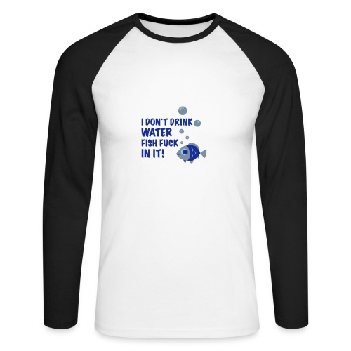 Shitday - Men's Long Sleeve Baseball T-Shirt