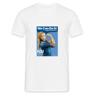 We can do it - T-shirt herr