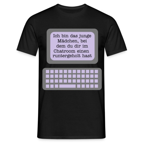 Chatroom - Männer T-Shirt