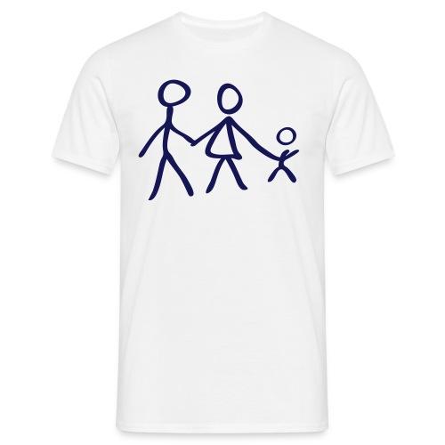 familia padre - Camiseta hombre