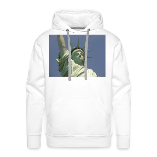 Mail ons je foto - Mannen Premium hoodie