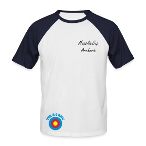 Badge - T-shirt baseball manches courtes Homme