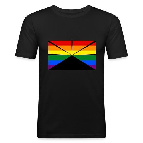 LGBT Run 2 - T-shirt près du corps Homme