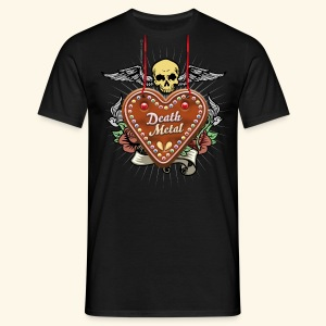 Lebkuchenherz Death Metal - Männer T-Shirt