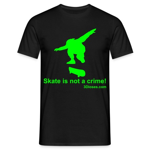 Skate is not a crime! - Camiseta hombre