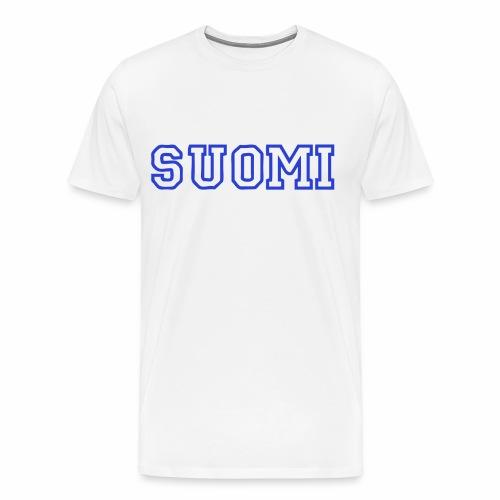 Miesten Suomi T-paita - Miesten premium t-paita