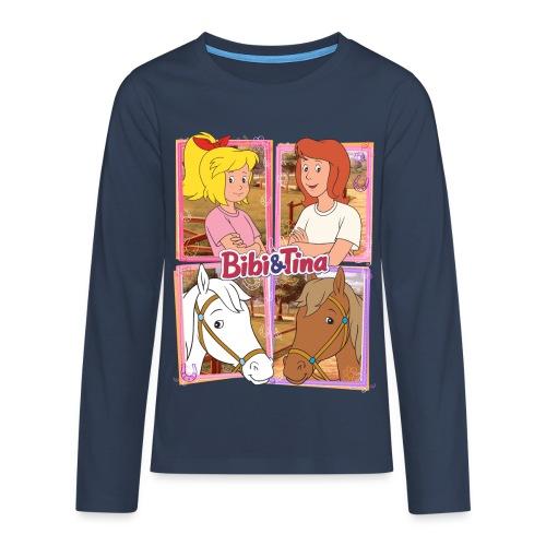 Bibi und Tina mit Amadeus und Sabrina - Teenager Premium Langarmshirt